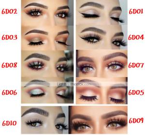 25mm Natural Thick False Fake Eyelashes handmade Lashes Makeup Extension