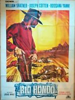 Plakat Kino Original Western Rio Hondo William Shatner - 120 X 160 CM
