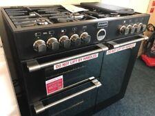 Stoves Sterling 900DFT Black 90cm Dual Fuel Range Cooker