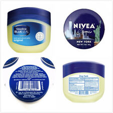 Vaseline Original 50ml/1.7oz  & NIVEA Cream Travel Size Tin 1oz.
