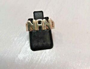 9ct Gold Nan Ring