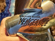 USED  MERCURY VENGEANCE PROP STAINLESS PROPELLER, 48-16986 16P, WITH HUB