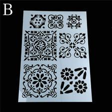 flower layering stencils for walls painting scrapbooking stamp album deHGUK
