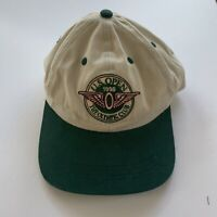 Vintage 1998 US Open Olympic Club White and Green Bill Adjustable Strapback Hat