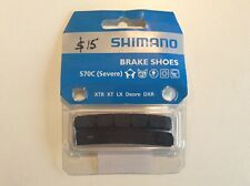 NOS Shimano S70C Cartridge V Brake Shoes - XTR - BR-M970 - Part Y8A298030