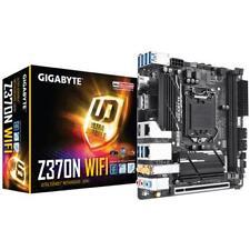 GIGABYTE Z370n WiFi Chipset LGA 1151 V2 ITX Ddr4 SDRAM Motherboard - Black