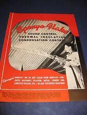 SprayO-Flake Catalog Asbestos Spray Insulation History