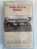 Bob Wills – The Essential Bob Wills (1935-1947) - Columbia CT 48958 Cassette