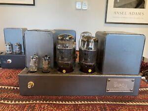"Quad 11 Vintage Amplifiers - One Amp Needs Repair ""Read"""