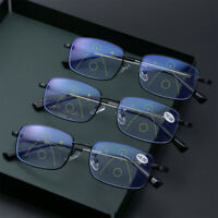 Progressive Multifocal Presbyopia Glasses Blue Light Blocking Reading Glasses
