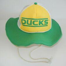 OREGON DUCKS Football COLLEGE COWBUCKER HAT Bucket Trucker Snapback Sun Golf Cap