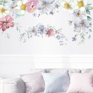 Flower DIY Wall Sticker Removable Vinyl Decal Mural Home Room Decor Art Decal