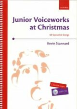 JUNIOR VOICEWORKS AT CHRISTMAS Stannard + CD