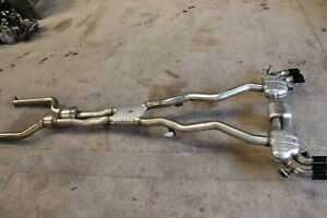 BMW M5 F90 4.4 PETROL COMPETITION COMPLETE EXHAUST SYSTEM 8095272 8071133