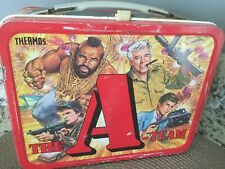 Vintage lunchbox the A team vintage