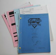 Lois & Clark * 1996 Superman TV Script * Season 4 Episode 12 * Lethal Weapon