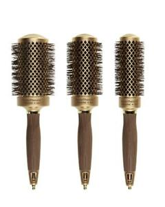 Olivia Garden Round Nanothermic 3-pc Round Brushes NT-54 NT-44 NT-34 Box Deal