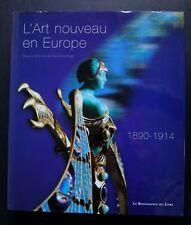 L'Art nouveau en Europe 1890-1914 La renaissance du livre 457 pages