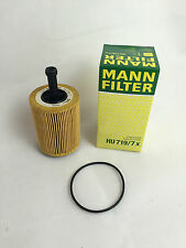 2 x MANN-FILTER MANN ÖLFILTER HU719/7X MADE IN GERMANY AUDI VW SKODA OILFILTER