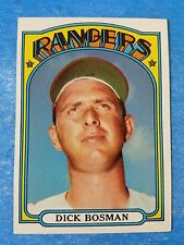 1972 TOPPS BASEBALL #365 DICK BOSMAN check out my 100s of vintage cards