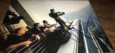 Christian Bale Batman The Dark Knight Doing Stunt Signed 11x14 Photo COA Proof 8