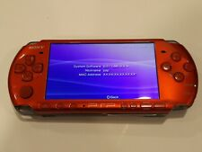 Red Sony Psp-3000 6.61 Lme-2.3 Infinity
