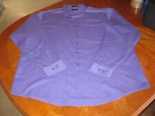 J. Garcia Jerry Garcia Men's Long Sleeve Button Down Shirt Purple 18 36/37 XXL