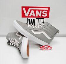 Vans SK8 Hi Zip CA Croc Leather Wild Dove VN-0XH9FCU Men's Size: 10.5
