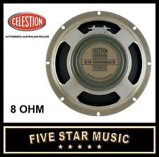 "CELESTION GREENBACK G10 10"" GUITAR SPEAKER 8 OHM 30 WATT NEW G-10"