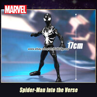 Marvel Spider-Man Noir Venom into the Verse Comic Heroes 7in Action Figure Toys