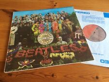 THE BEATLES SGT. PEPPERS LONELY HEARTS CLUB  LP RARE GREEK PRESS 2J064-04177