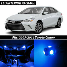 2007-2016 Toyota Camry Blue Interior LED Lights Package Kit