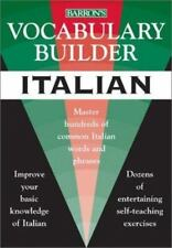Vocabulary Builder: Italian: Master Hundreds of Common Italian Words and Phrases
