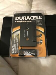DURACELL DU7116 Cassette Adapter with 3.5mm Connection NIP FREE SHIPPING