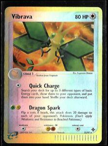Reverse HOLO EX Dragon Vibrava! 22/97 Pokémon 2003 Rare Pokemon Card! WOTC