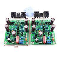 2-Channel Class AB MOSFET Power Audio Amplifier Board IRFP240 IRFP9240 150W 300W