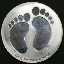1994 Vintage Eliminator Footprints Surf Slammer Hang Ten 999 Fine Silver 31.10 G