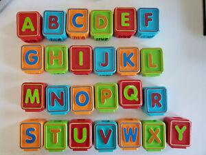 VTech Letter Blocks Sit To Stand Alphabet Train PICK ONE BLOCK