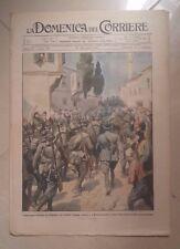 LA DOMENICA DEL CORRIERE 21-28 LUGLIO 1918 PRIMA GUERRA MONDIALE N. 29 PIAVE