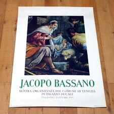 JACOPO BASSANO poster manifesto Manierismo Arte Palazzo Ducale Venezia B14
