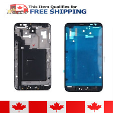 Samsung Galaxy Note N7000 i9220 Black Faceplate Frame Front Housing Bezel