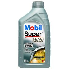 2 x Mobil Super 3000 Formula VC 0W-20 Synthetic 1L Engine Oil Lubricant 153319