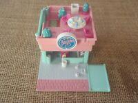 Vintage Polly Pocket Bluebird 1994 Drive Inn Burger Restaurant House ONLY