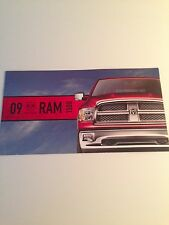 2009 Dodge Ram 1500 8-page Original Sales Brochure