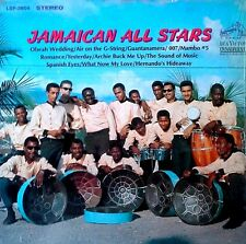 JAMAICAN ALL STARS - SELF TITLED - RCA LABEL - 1967 LP - STILL IN SHRINK WRAP
