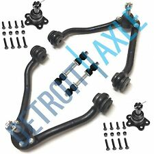 New 6pc Front Upper Control Arm and Ball Joint Suspension Kit - Chevrolet GMC