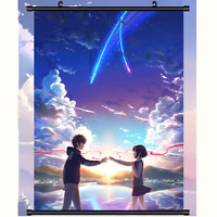 Anime Poster Japan Your Name (Kimi no Na wa)  Wall Scroll painting Hanging 60*90