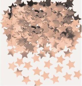 Rose Gold Stars Table Confetti Sprinkles Birthday Wedding Engagement Decoration