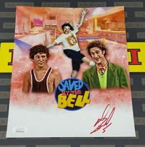 Dustin Diamond Screech Saved by The Bell Hand Signed 8x10 Photo JSA Image #2 R