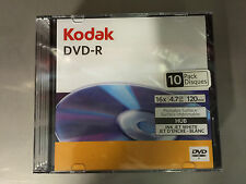 """KODAK-DVD-R-BLANK-DISCS-x-30-Discs-3-x-10-PACKS-16-X-SPEED - 4.7GB """"120min"""""""